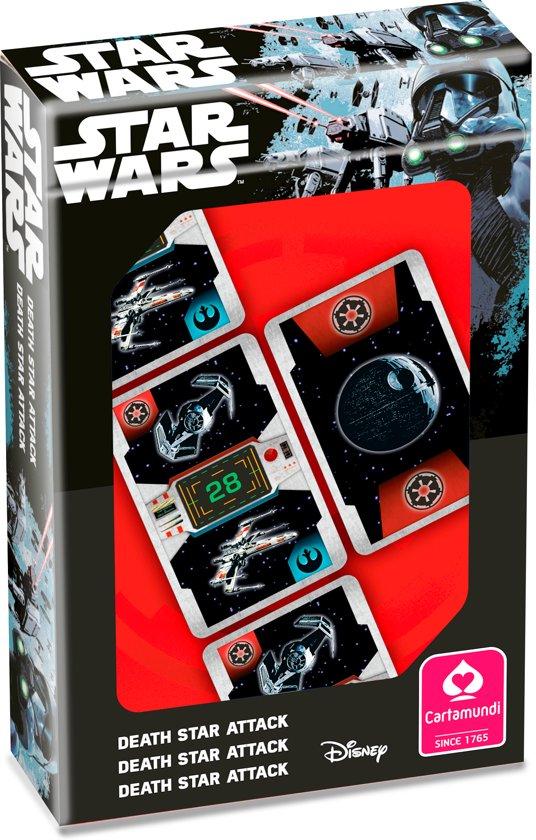 Thumbnail van een extra afbeelding van het spel Star Wars - Speelkaarten - Death Star Attack
