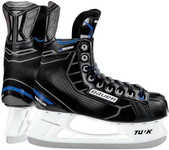 Bauer Ijshockeyschaatsen Nexus N6000 Junior Zwart Maat 36