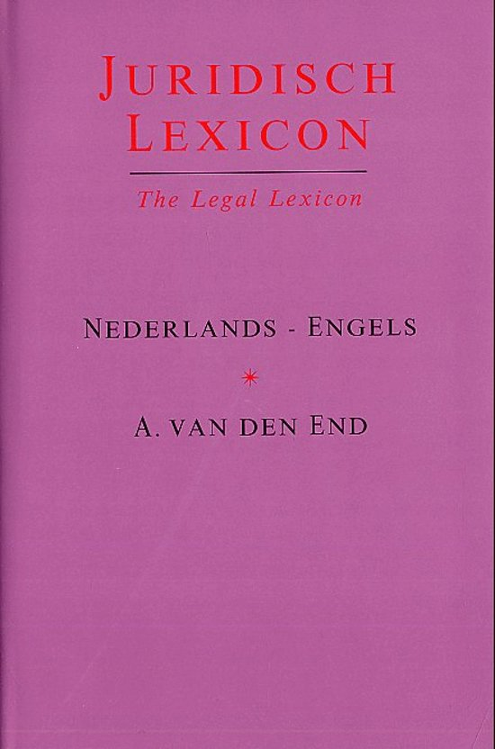 Juridisch Lexicon