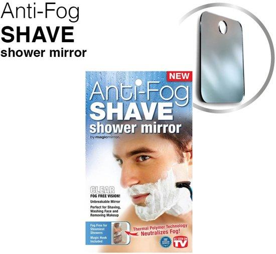 Magic Mirror - Anti-Fog Shave Mirror anti aanslag spiegel