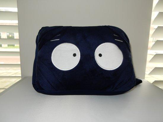 i-tabby - tablethouder & reiskussen in 1 - blue