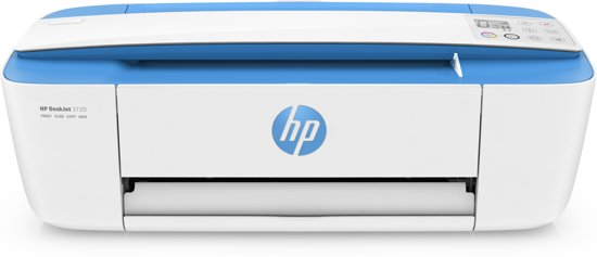 HP Deskjet 3720 - All-in-One Printer - Wit/Blauw