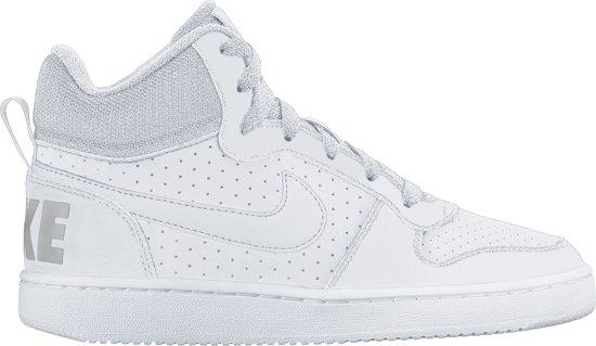 Nike Court Borough Mid (GS) Sneakers Kinderen - White/white-White
