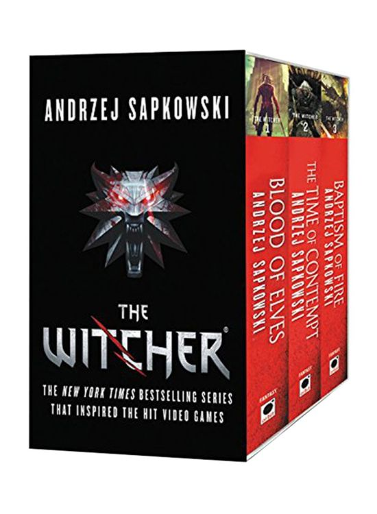 Boek cover The Witcher Boxed Set van Andrzej Sapkowski (Paperback)