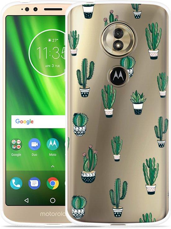 Moto G6 Play hoesje Cactus