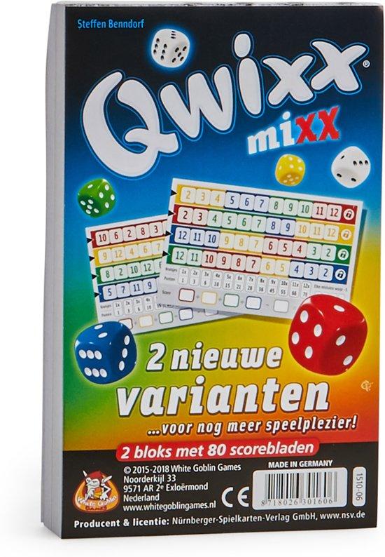 Afbeelding van het spel Qwixx Mixx - Uitbreiding