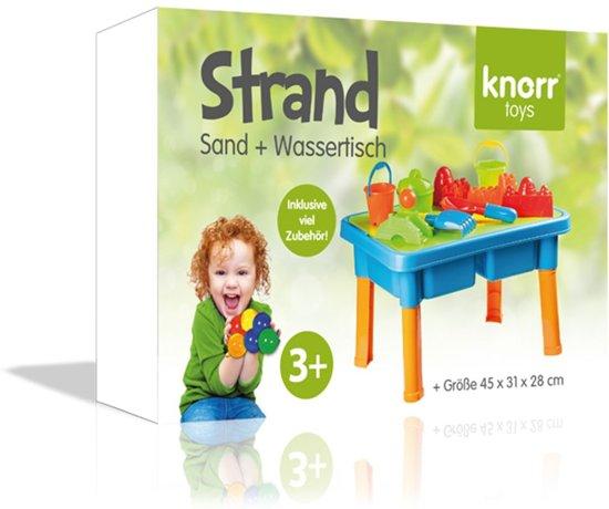KnorrToys Zand- en Watertafel Strand