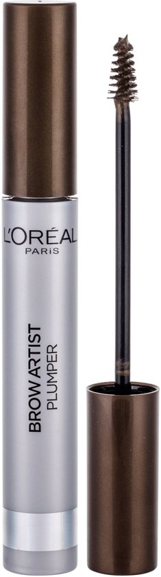L'Oréal Paris Brow Artist Plumper 04 Dark Brunett - Brown - Wenkbrauw Mascara