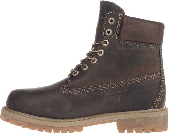 Maat Boot Donkerbruin Timberland Premium Heren 6 inch Laarzen 45 0TqwOSgq