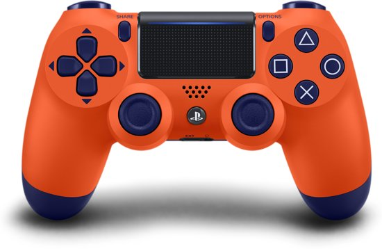 Sony PlayStation 4 Wireless Dualshock 4 V2 Controller - Sunset Orange - PS4