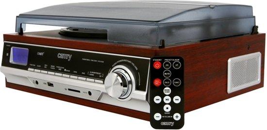 Camry CR 1114 - Draaitafel met SD/MMC/USB stereo recording naar MP3