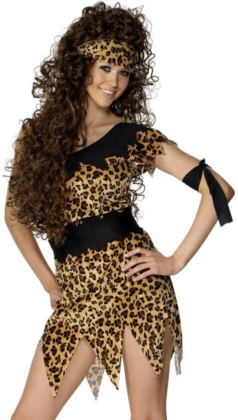Sexy holbewoner outfit voor vrouwen - Volwassenen kostuums