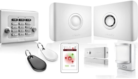 Somfy Protexiom Plus Smart GSM Draadloos Alarm Systeem