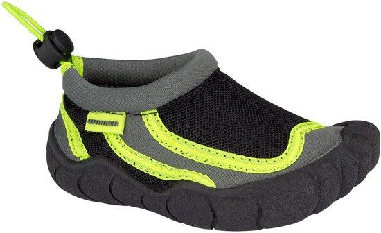 Waimea Aquaschoenen Foot - Junior - Antraciet/Zwart/Fluorgroen - 31
