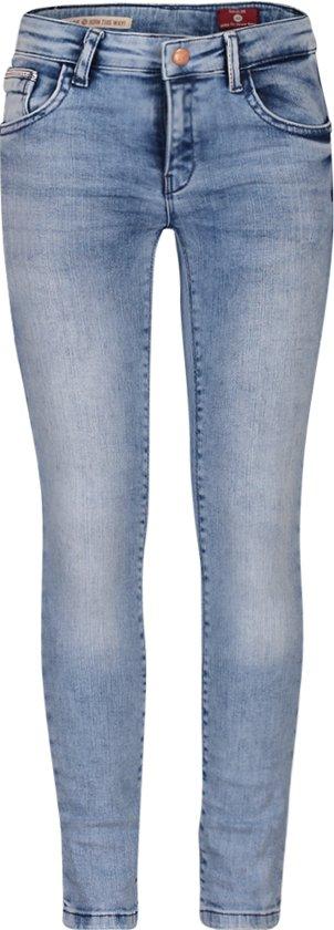 BOOF Jeans meisjes skinny maat 134 blauw
