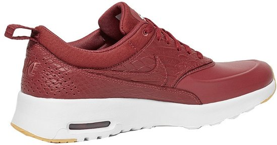 official photos 86dde 487c9 Nike Air Max Thea Premium sneakers dames rood maat 40