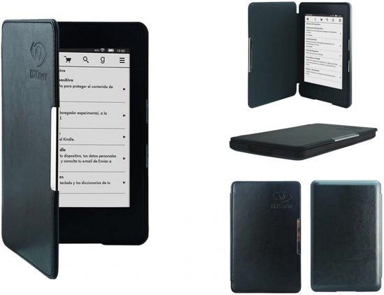 SlimFit Case Amazon Kindle 7 met slaapfunctie, Luxe Sleep Cover, zwart , merk i12Cover