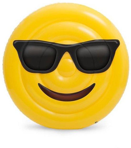 Opblaasfiguren - Inflatables Opblaasbare Emoji / Smiley - Geel (160 x 160 cm)