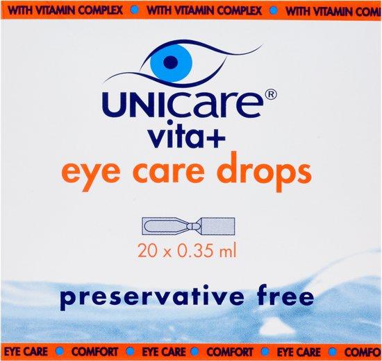 Unicare Vita+ - Oogdruppels 20 Ampullen