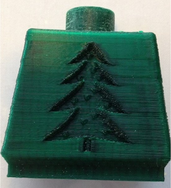 3mm kerstgroen ABS filament