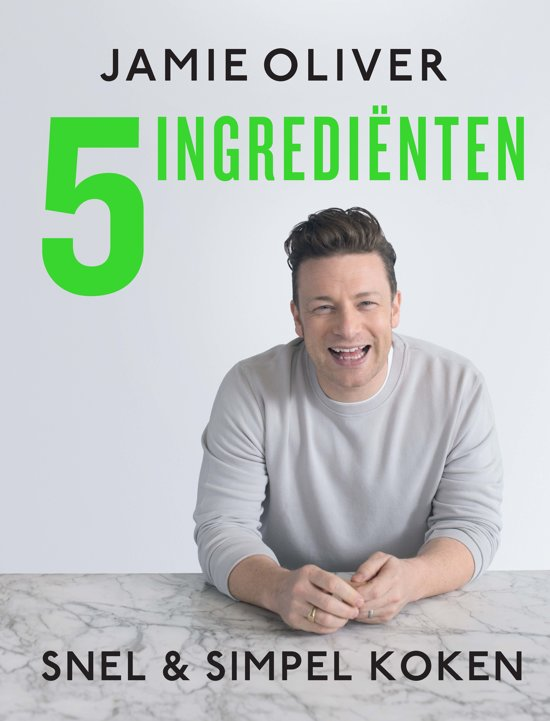 Boek cover Jamie Oliver 5 ingrediënten van Jamie Oliver (Hardcover)