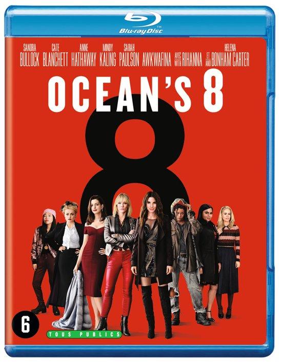 DVD cover van Oceans 8 (Blu-ray)