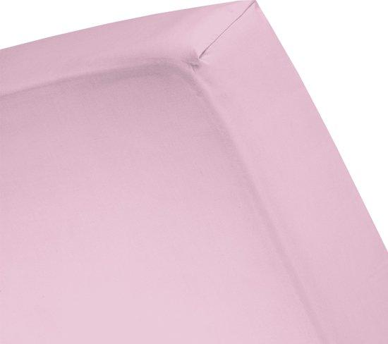 Cinderella - Hoeslaken (tot 25 cm) - Katoen - 180x210 cm - Candy