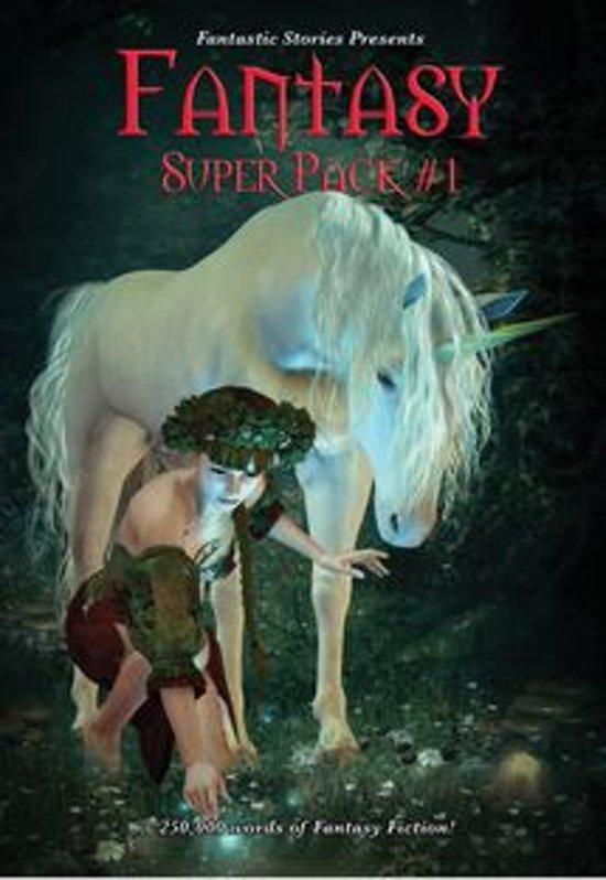 Boek cover Fantastic Stories Presents: Fantasy Super Pack #1 van Robert E. Howard (Onbekend)