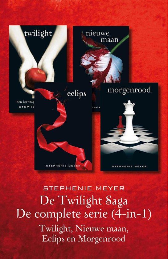 Boek cover Twilight 4-in-1 - De twilight Saga: De complete serie van Stephenie Meyer (Onbekend)