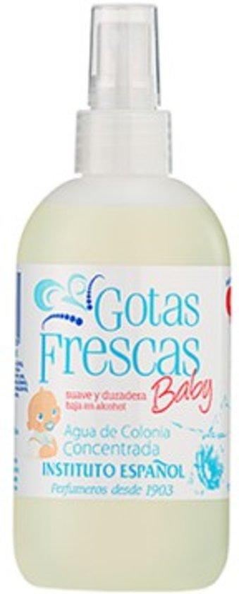 MULTIBUNDEL 2 stuks Gotas Frescas Eau De Cologne Baby Spray 80ml