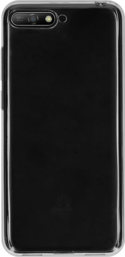 Accezz Clear Backcover Huawei Y6 (2018) hoesje - Transparant