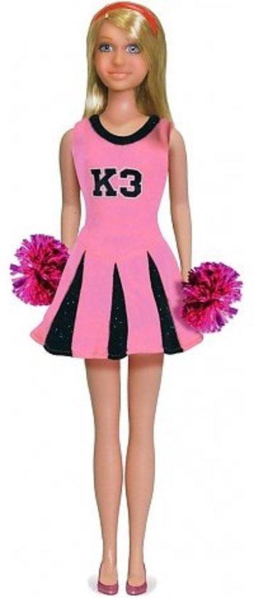 K3: Jurk voor tienerpop – Cheerleader