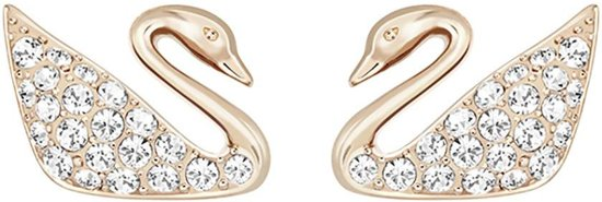 Swan pierced earrings 5144289