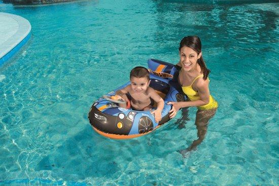 Bestway Opblaasboot Hot Wheels Afmeting artikel: 112 x 71 cm