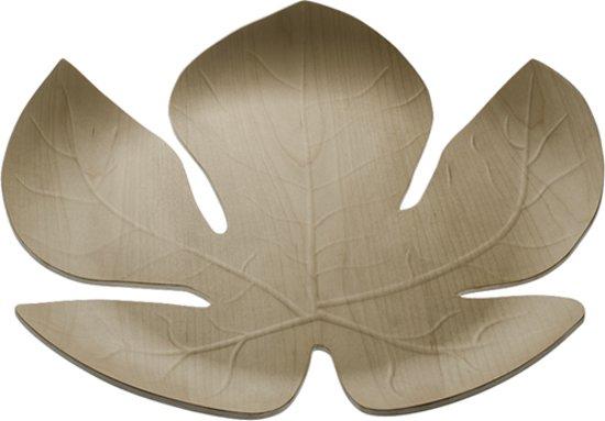 ADAMO dienblad bladvorm esdoorn