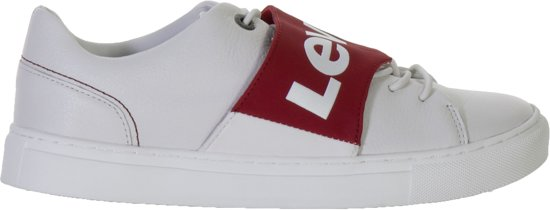 rood Wit Levi Maat 40 Sneakers Vrouwen Batwing wqHHnrxY