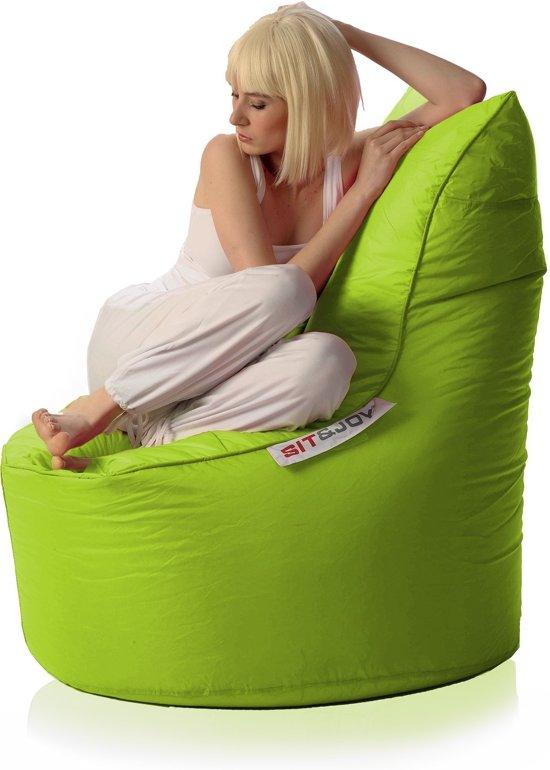 Zitzak Sit En Joy Blauw.Bol Com Sit Joy Balina Zitzak Lime