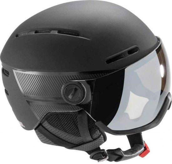 VISOR - BLACK DUAL LENSE -  / X59 - 62 cm