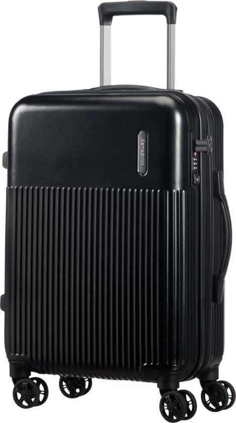 Samsonite Rectrix Spinner Reiskoffer/Handbagage - 55 cm - Matte Zwart