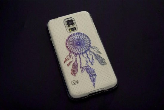 Backcover voor Samsung Galaxy S5  - Print 18