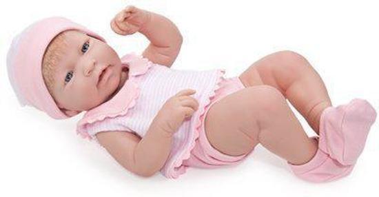 Berenguer Babypoppen La Newborn 43 cm Meisje Roze met haar
