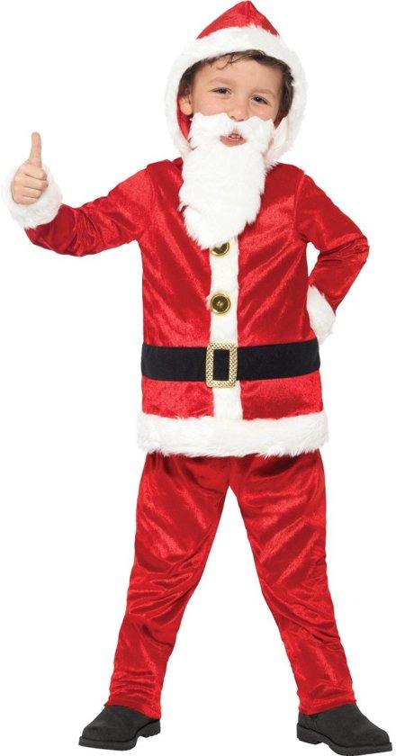 ae3d4061c27218 Kerstman kostuum met grote buik en geluid voor kinderen - Verkleedkleding -  Maat 158/170