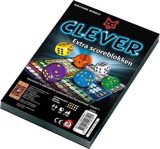 Afbeelding van Clever Scoreblok Dobbelspel speelgoed