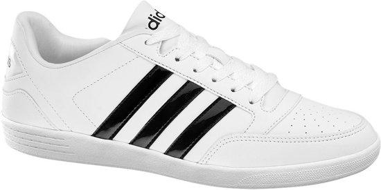 Dames 40 Hoops Low Adidas Vl Maat Witte XZOiluwPkT