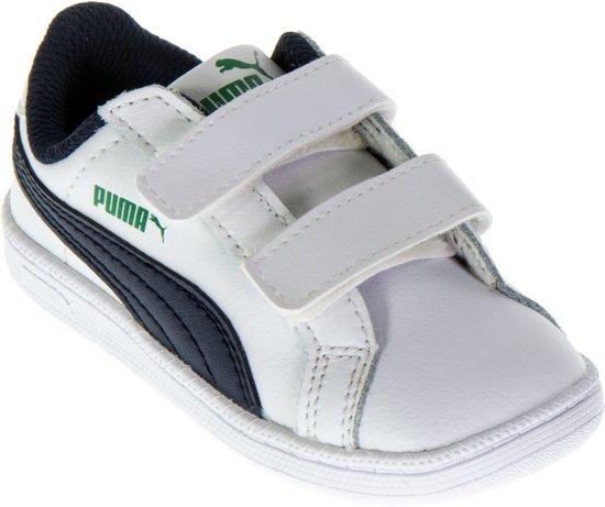 0af68018571 bol.com | Puma Smash Fun L V Sneakers - Maat 27 - Jongens - wit ...