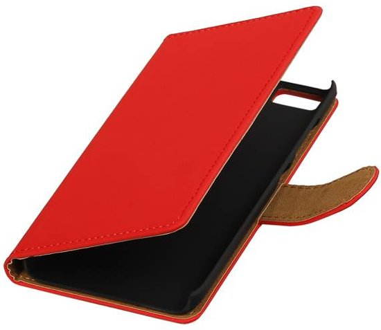 Wiko Lenny 2 Rood | bookstyle / book case/ wallet case Hoes  | WN™