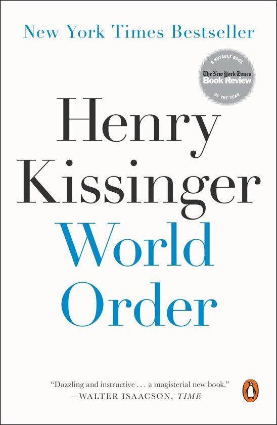 Boek cover World Order van Henry Kissinger (Paperback)