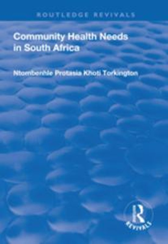 Community Health Needs in South Africa