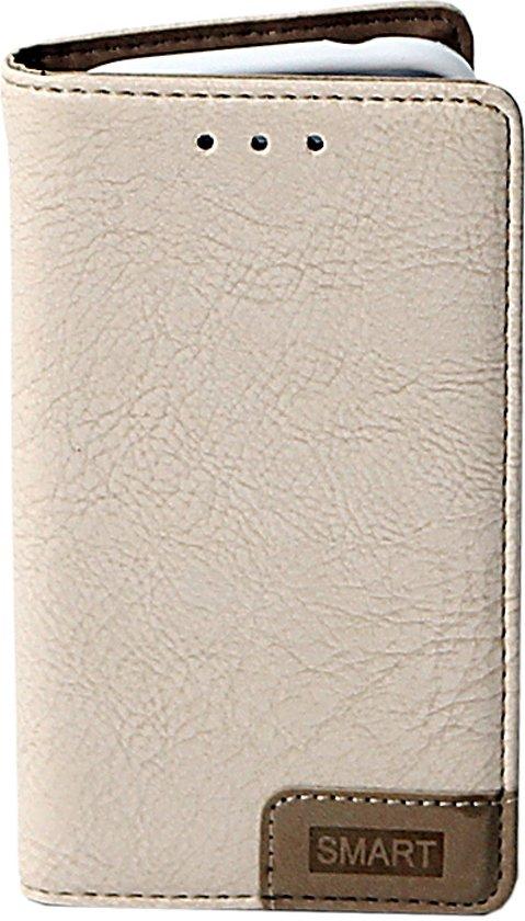 Samsung Galaxy J1 Mini Prime – Smart Bookcase - Hoesje – Hoes – Hoesje – Perfecte Hoge Kwaliteit Bescherming Voor Je Telefoon – Wit