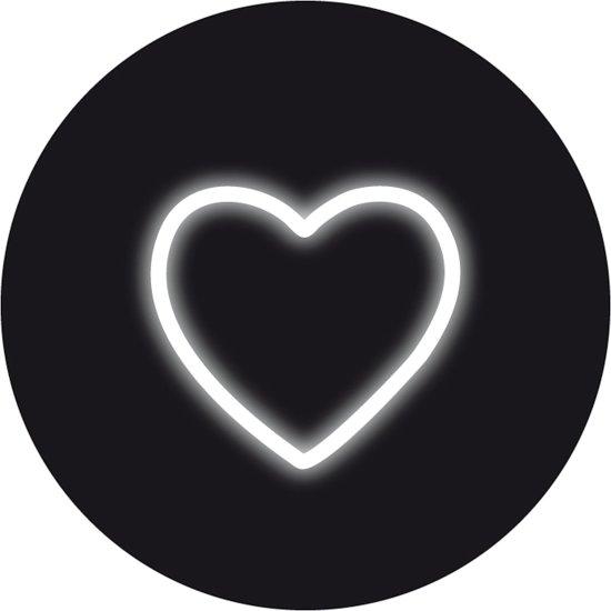 Seletti Neon Art - Wandlamp - Hartje